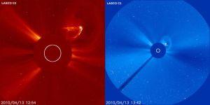 solar flare cme
